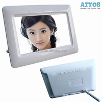 High End Promotive Gift Insert Memory Card to Playback Photos Electronic Photo Frame 7 inch