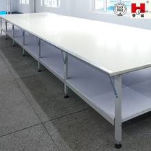 Hot Sale Double Layer Garment Factory Cutting Table