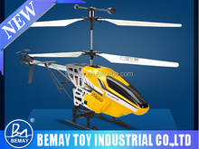 Parts gyro rc helicopter alloy model toy helicopter 3.5 channel helicopter with colorful lights