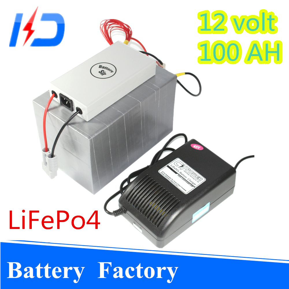 2017 Hot selling portable replacement batterie 12v 100ah electric vehicle lifepo4 battery pack