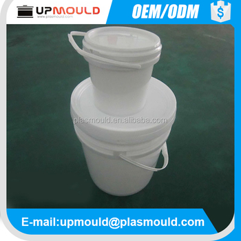 Plastic good sealing paint bucket mould