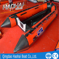 8m plywood floor inflatable boat