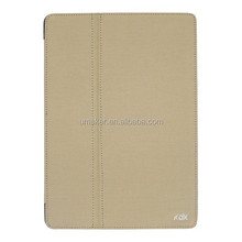 Low price good quality for mini ipad leather case with folding stand