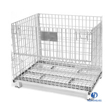 Transport storage steel durable supermarket security roll cage