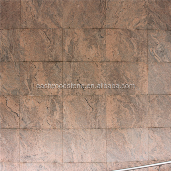 India Multicolor Red Granite wall tiles