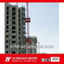 SS100/100 Hot Selling Building Construction Hoist Machine/Goods Lift/Electrical Material Hoist/Cargo/ Freight Lift China factory