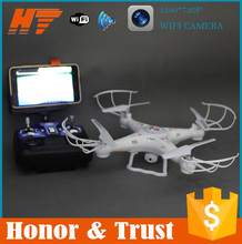 FPV drone with hd camera wifi dural mode flying 2.0mp quadcopter