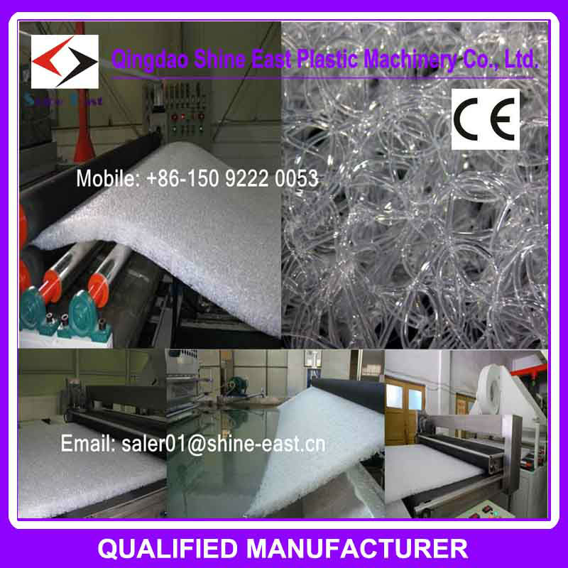 EVA coil mattress machine for bed mattress