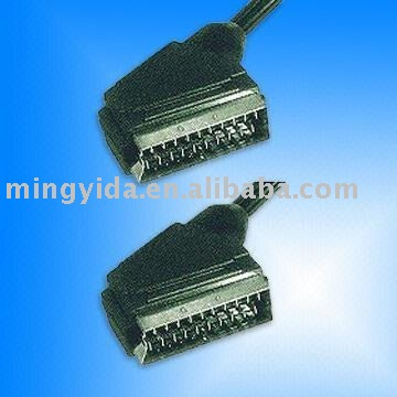 Scart cable/21 Pin Scart to Scart cables