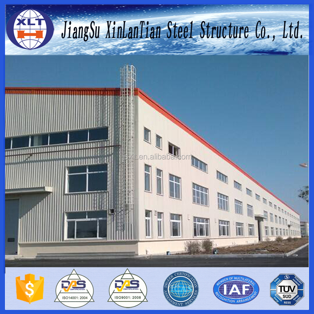 Qatar Large Span Prefabricated Structure Steel Warehouse