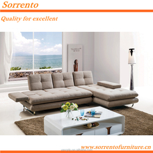 S-155A-1# Sorrento Living Room Furniture extionsion Sofa Bed Cum Bed
