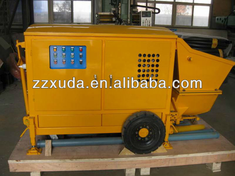 Concrete pump equipment