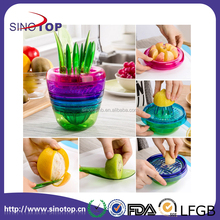 DIY Tools Creative Fruits Plant Slicer 10-in 1 Apple Cutter Avocado Scoop Lemon Fruit Salad Making Sets