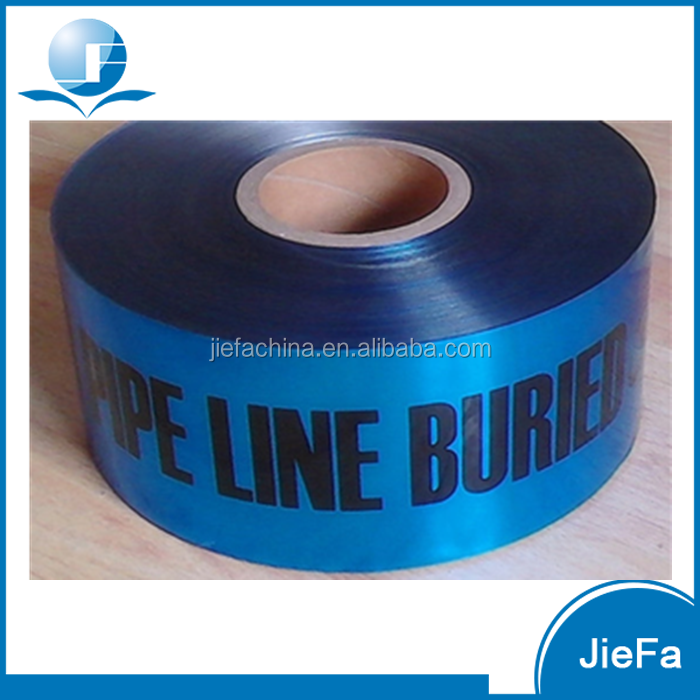 Underground Detectable Caution PE Optic Cable Warning Tape