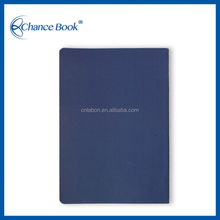 Personalized Soft Cover Promotional PU Leather Notebook