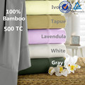 250TC/300TC whole set bamboo fiber/ bamboo bed sheet
