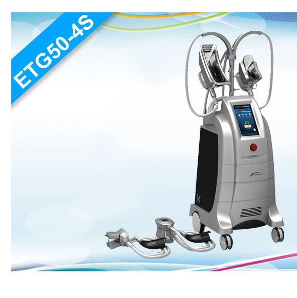 ETG50-4S Beco manufacturer Vertical Fat Freezing Cryolipolysis with 4 interchangeable cryo handles