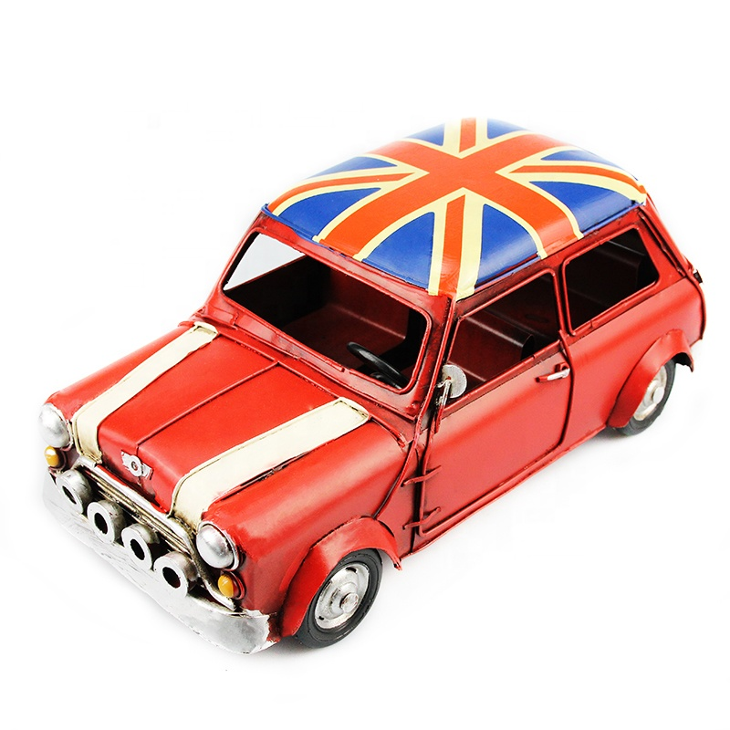 Wholesale Home Decor Handicraft Crafts Decoration Vintage Miniature Diecast Model Car <strong>Metal</strong>