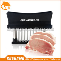 beef tenderizer meat tenderizer blade rolling meat tenderizer with plastic handle stainless steel