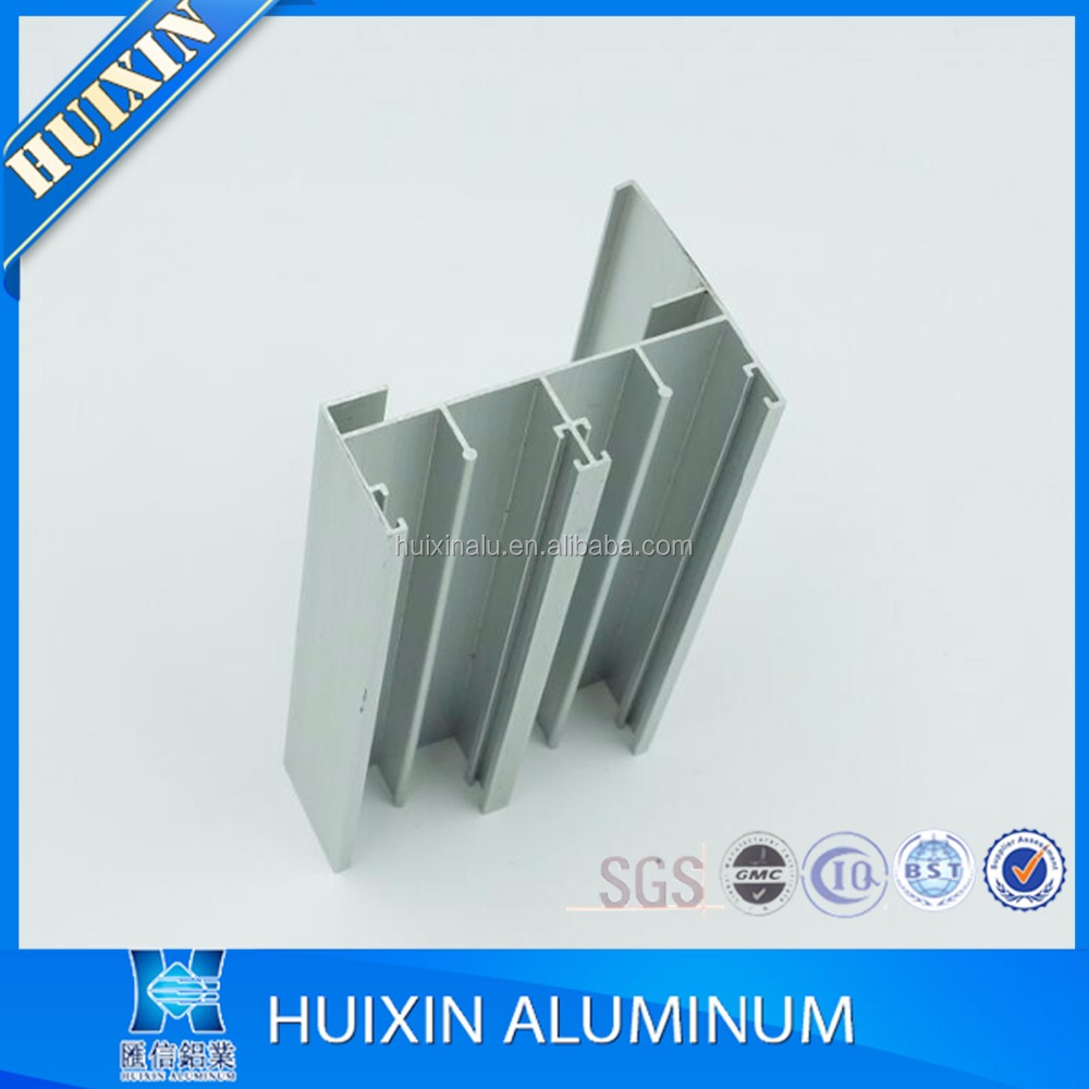 6000 series industrial extruded aluminium profile company for window and door