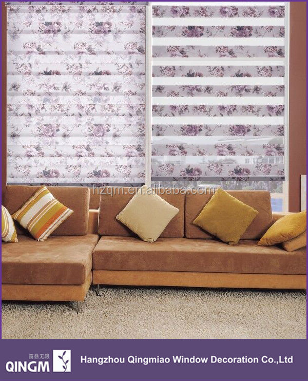New Style Printing Window Curtain Textile Fabric Sunscreen Fabric