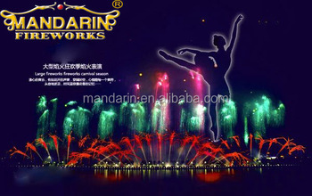 Mandarin Fireworks Professional display cake and shells for sale