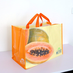 Fruit reusable waterproof grocery shopping bag