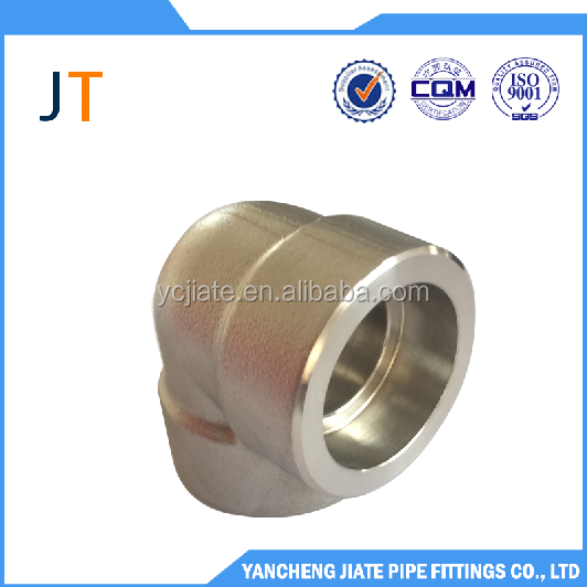 90 deg pipe elbow price socket welding stainless steel pipe fitting