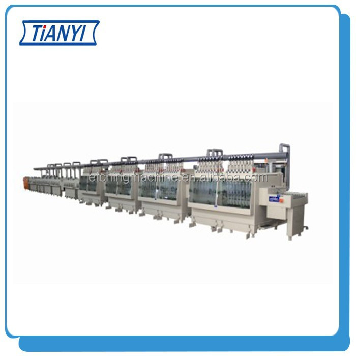 Double-side Precision Etching Stripping Machine