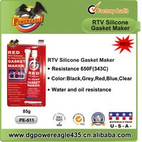 High Temperature Resistance Red Silicone Gasket Maker