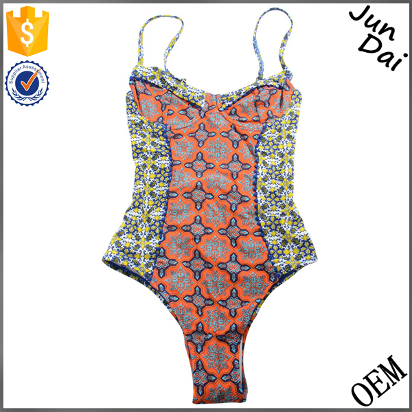 2016 Fashion Sexy Little Girls Printed Swimsuit Clothes