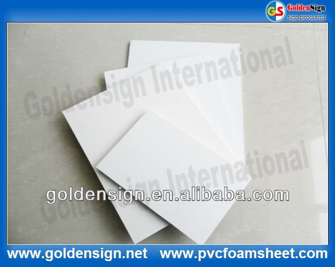 Rigid PVC Foam Sheet for funiture 19mm
