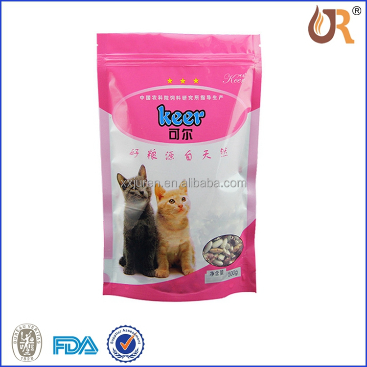 Factory directly selling plastic packaging dog food bag