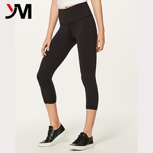 Custom high quality women fitness yoga wear high rise yoga leggings yoga apparel wholesale