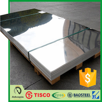 TISCO 3mm mirror finish 316l stainless steel sheet