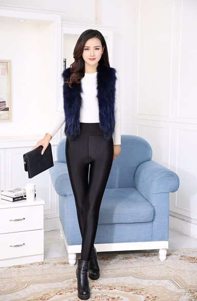 2017 fashion and keep warm glossy leggings