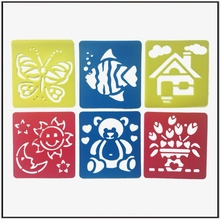 Bird Butterfly And Fish Plastic Drawing Stencil For Kids Animal Stencil