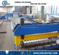 Corrugated Metal Roof Sheet Machine, Wall And Roof Tile Roll Forming Machine