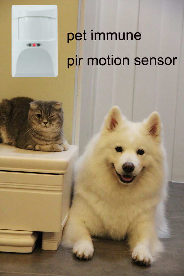 433/868MHz Wireless PIR Motion Sensor pet immunity pir motion sensor