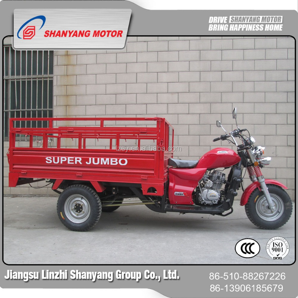 175CC air cooled three wheeler tricycle/cargo box motorcycle dump truck motorcycle