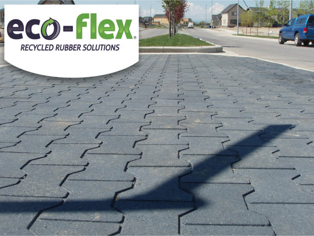 I-mat Recycled Rubber Flooring Paver Tiles