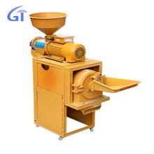 Pepper Spices Powder Crusher Machine Rice Milling Machine Combined