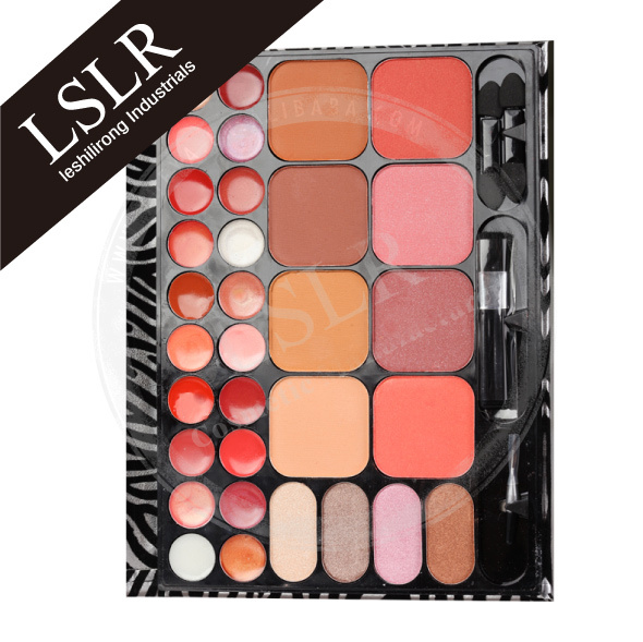 Manufacturing Lipstick/Liquid Lip Gloss professional makeup eyeshadow contour set