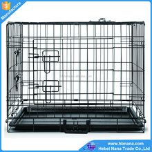 Folding iron wire pet cage dog cage for sale / mini pet cage