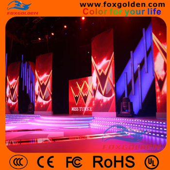 High Brightness Full Color Smd P5 HD Led Display For Indoor Stage