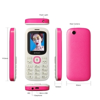 Factory price newest ipro i3185 1.77 inch 2G GSM big battry phone with strong flashlight one key torch