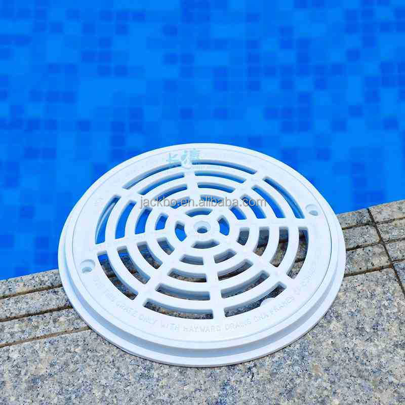 2017 super quality swimming pool overflow plastic drain grating for sale