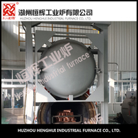automatic nitrogen protection 120KW vacuum annealing furnace mechanical parts heat treatment