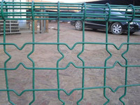 Top Grade Double Circle fence / Ring Fence / Fence Netting