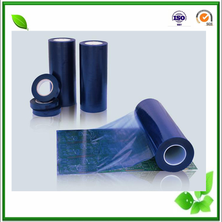 high transparent blue shell film in plastic film